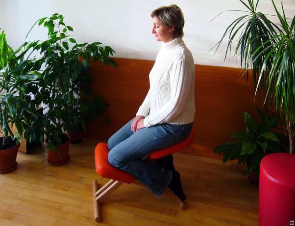 zdravé sedenie